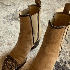 ⭐️AUTHENTIC CHRISTIAN LOUBOUTIN BOOTIES ⭐️